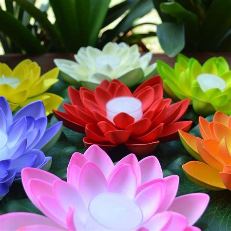 floating lotus flower candle floating lanterns lanternshop com au