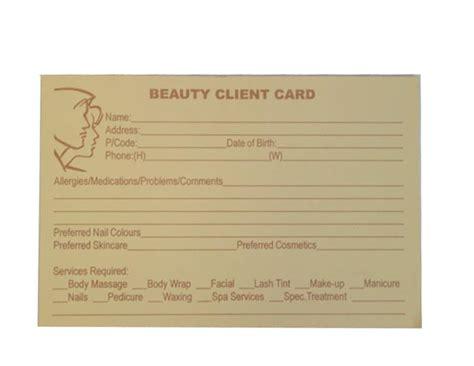 client record card beauty template makeup client record card makeup vidalondon