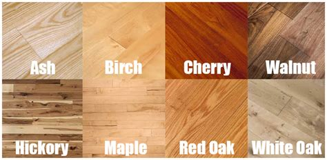 hardwood flooring wood types intro to reno a look at hardwood flooring eieihome