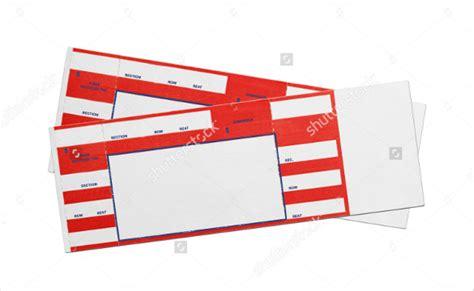 blank ticket templates psd vector eps ai word