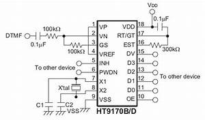 ht9170b dtmf receiver buy online in india robomart With dtmf decoder
