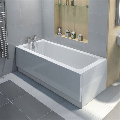 Regular Bathtub Size by How To Fit An Acrylic Bath Panel With Step By Step