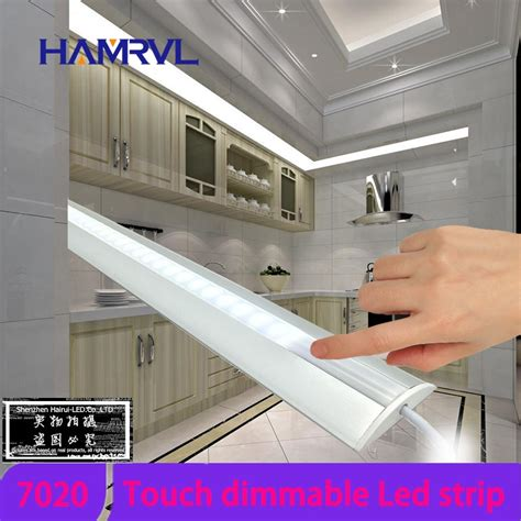 led kitchen cabinet lighting dimmable hamrvl 2pcs set smd 7020 dimmable cabinet light warm 8938