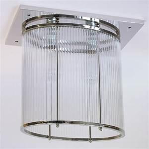 Art Deco Deckenleuchte : art d co deckenleuchte ovales schmuckst ck mit kristallglas lumi leuchten ~ Sanjose-hotels-ca.com Haus und Dekorationen