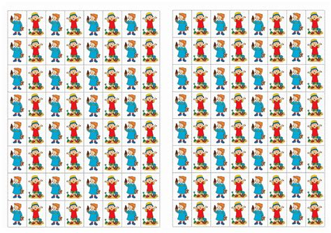 caillou stickers birthday printable