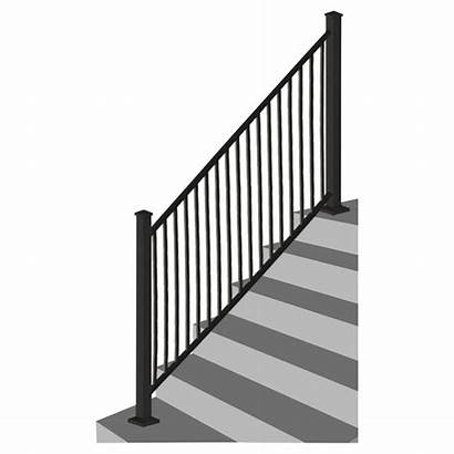 Excalibur Stair Sturdy Rail Steel