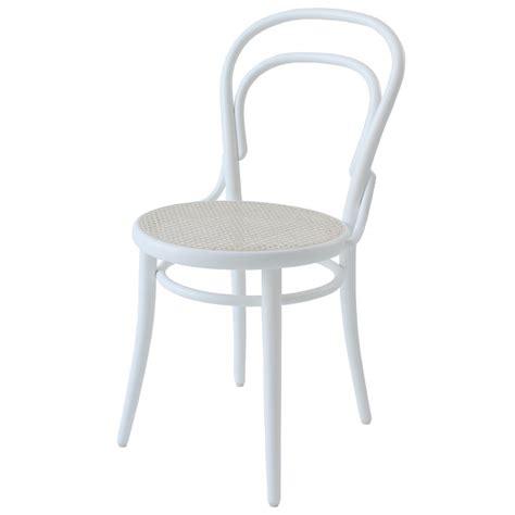 Ton Sedie Ton Sedia Chair 14 Rattan Bianco Design Shop