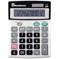 Calculatrice De Bureau 12 Chiffres M Business Vente De
