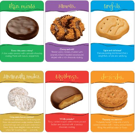 scout cookie you re getting different girl scout cookies