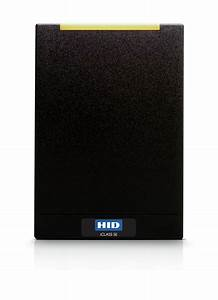 HID iCLASS SE R40 Contactless Smart Card Reader, Wall ...