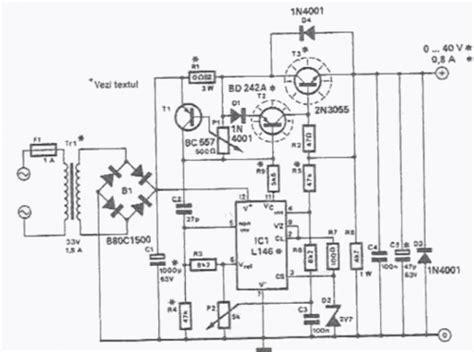 lab power supplylmcircuit diagram world