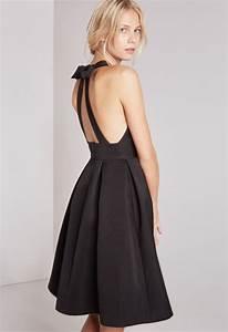 robe noire noeud dans le dos robes populaires modeles 2018 With robe noeud dans le dos