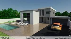 photos maison contemporaine toit plat 9jpg With ordinary photo maison toit plat 9 en pierre moderne toit plat tendance
