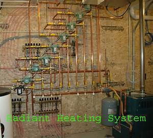 Radiant Heat  Radiant Heat Oil Boiler