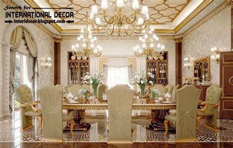luxury classic dining room interior design decor
