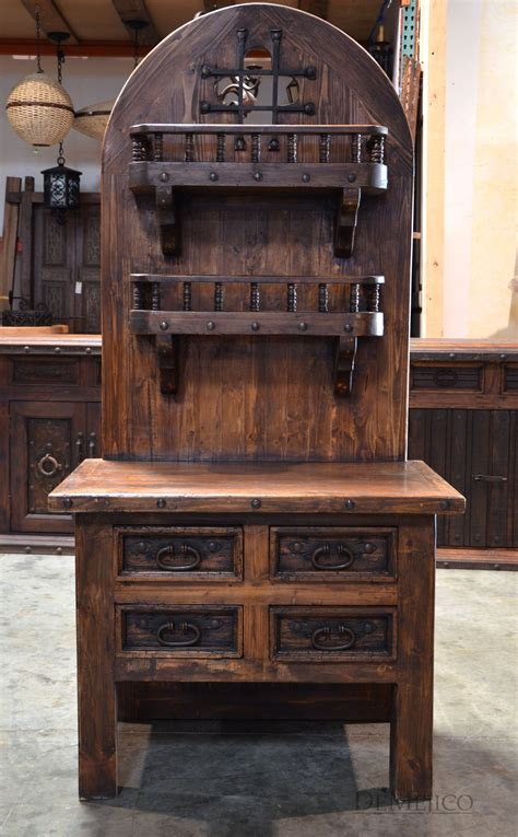 plans wooden bakers rack hutch  diy furniture