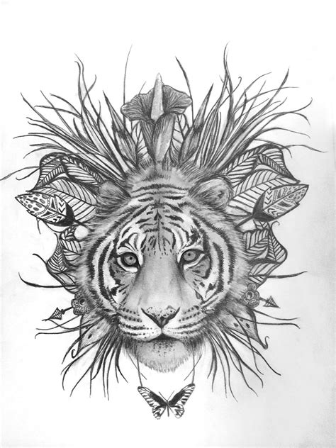 2014 TOTE ILLUSTRATION COMP WINNER! – Spell & the Gypsy Collective | Inkyyy | Tattoos, Tiger