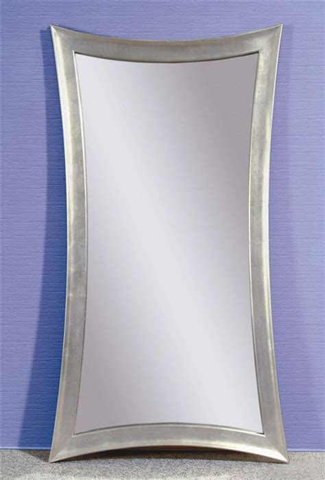 floor mirror silver furniture fashion6 cool and contemporary floor mirrors
