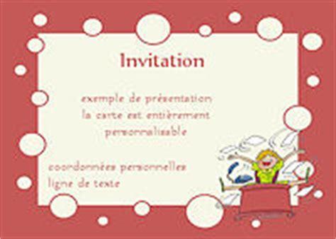 modele invitation pot de depart mutation document