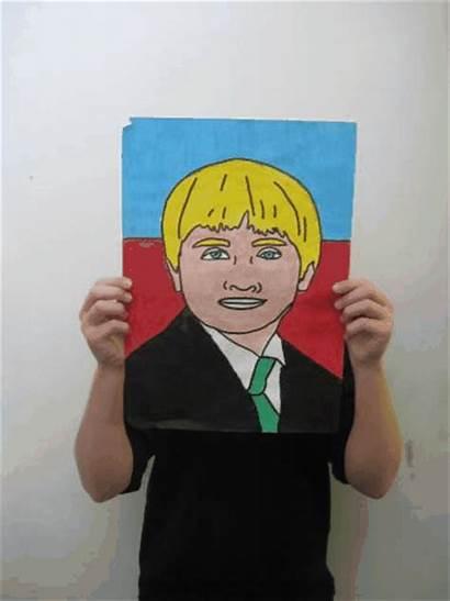 Self Portraits Pop Portrait Student Drawing Students
