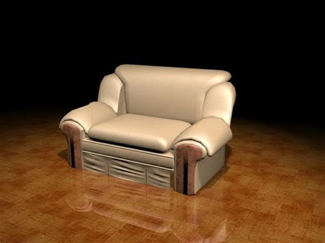 beige leather reclining sofa beige leather reclining sofa 3d model 3ds max files free