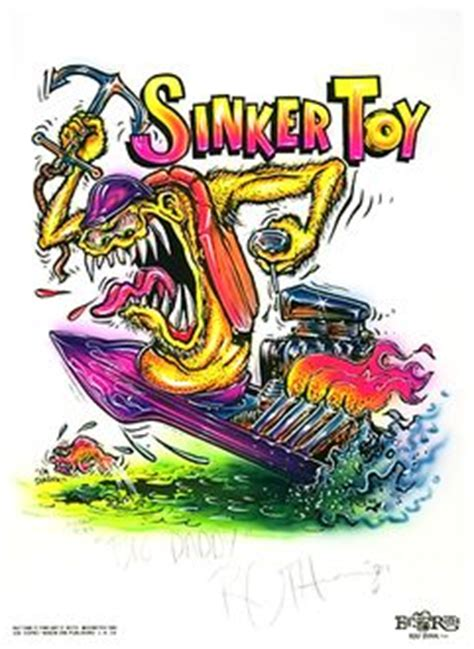 Rat Fink Boat welcome to golive cyberstudio