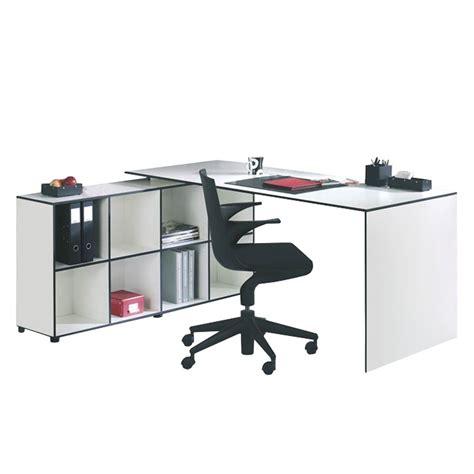 bureau 70 cm bureau angle 180 80x60x75 cm blanc laque comparer