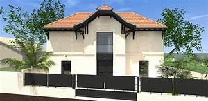 indogate maison moderne depleinpied 28 images lit avec With escalier metallique exterieur leroy merlin 4 escalier quart tournant bas gauche auvergne structure bois