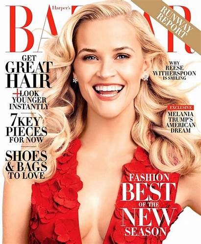 Bazaar Reese Witherspoon Harper February Issue