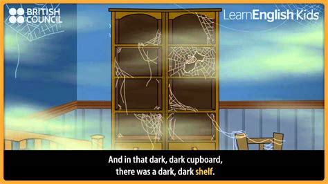 dark dark wood kids stories learnenglish kids british