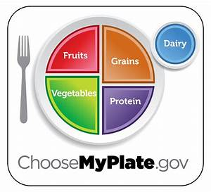 Visual Representations Of Healthy Eating  Myplate And