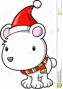 Christmas Holiday Polar Bear Stock Vector - Image: 11884166