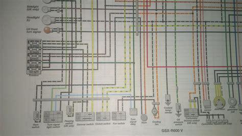 need wiring diagram for 1997 gsxr 600 needs to white wire suzuki gsx r motorcycle