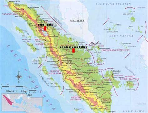 peta wisata candi