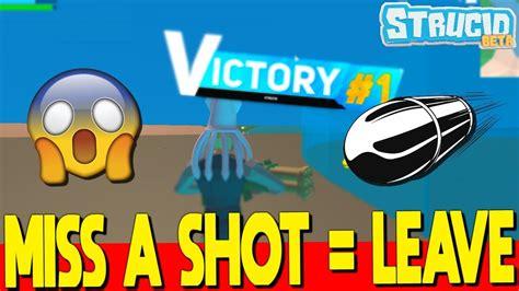 time    shot  leave  game  strucid