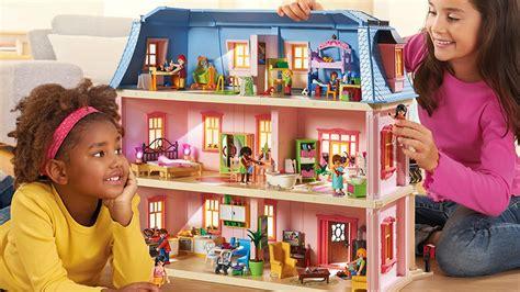 playmobil huis rosa playmobil dollhouse romantisches puppenhaus