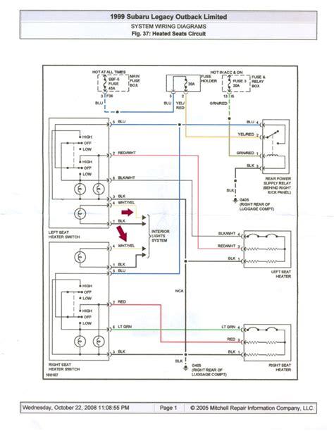 Subaru Outback Wiring Diagram Free