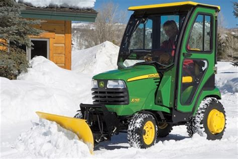 john deere  series   snow blade package