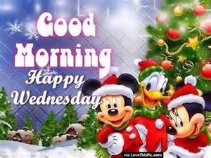 Good Morning Happy Wednesday Christmas
