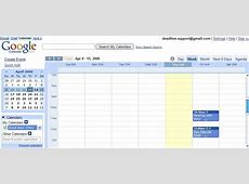 Google Calendar Launched