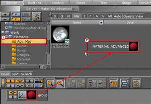 Working With Material Advanced Elements