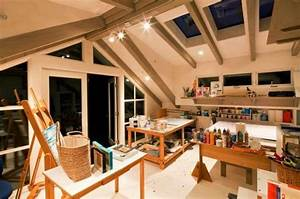 22 home art studio ideas interior design reflecting for Art studio design ideas