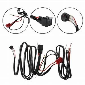Car Lights Wire Led Light Bar Wiring Harness For Boat Suv