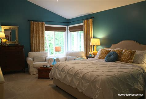 Master Bedroom After Makeoverking Bed  Hooked On Houses