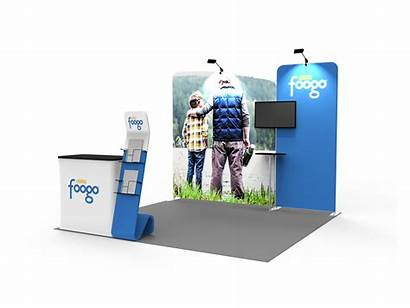 Booth 10ft Display Portable Exhibition Stand Displays