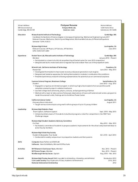 School Resume Gpa by Resume Tips And Sles