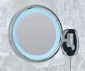 Miroir Grossissant Lumineux X10 : miroir grossissant lumineux mural id es de d coration ~ Dailycaller-alerts.com Idées de Décoration
