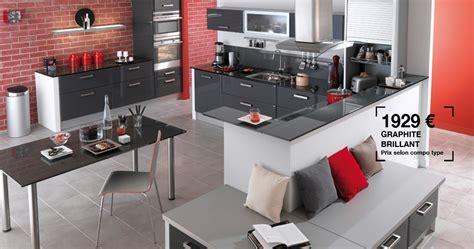 cuisine lapeyre fjord simple cuisine lapeyre carat photo couleur graphite