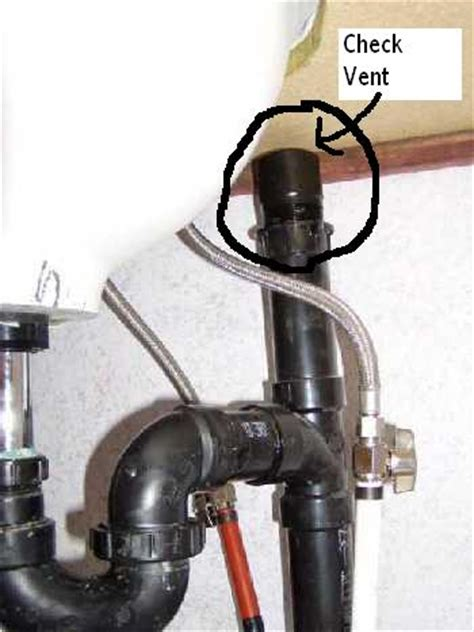Slow Running Sink by Plumbing Check Vent Under Counter Sink Mobile Home Repair