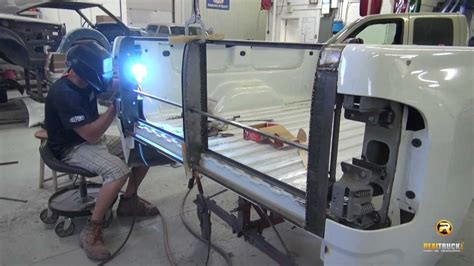 storm truck project episode  custom tailgate